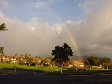Rainbow over Kaanapali Royal
