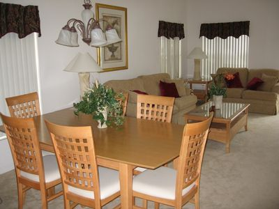 2nd Lounge and dining area