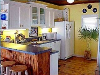 New Smyrna Beach house photo - Cottage kitchen with ocean view