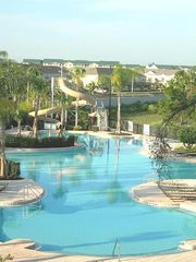 Windsor Hills house photo - Lagoon Swimming Pool with Large Water Slide & Dancing Water