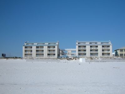 SUGAR BEACH COMPLEX FROM BEACH