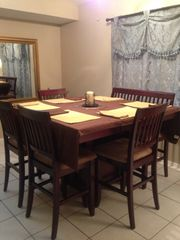 Palm Bay house photo - New Kitchen table. Seats 6-8