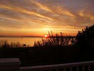 Portland condo photo - Typical Sunrise you will see from your apartment at Promenade Place