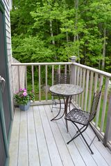Blue Hill apartment photo - Deck, perfect for morning coffee or afternoon cocktails!