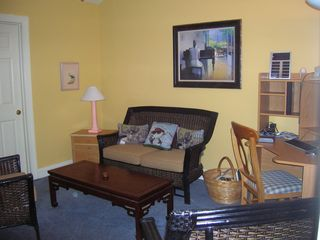 Pawleys Island townhome photo - Sitting Room/office/ laundry