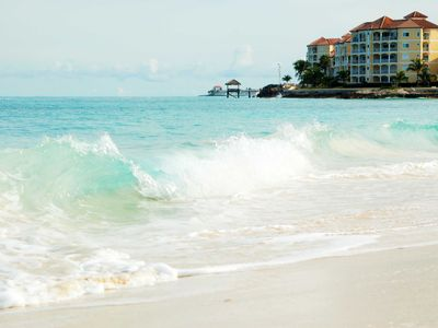 Orange Hill Beach is a walking distance away!