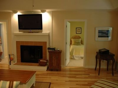 into family room