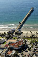 San Clemente condo photo - Aerial View of San Clemente Cove Resort and Pier