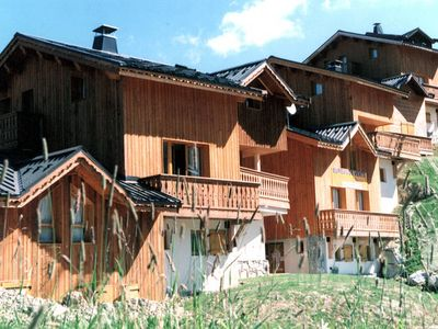 Superb chalets and lodges situated at 2000 m