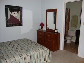 Gainesville condo photo - Another view of bedroom #2 with en-suite bathroom