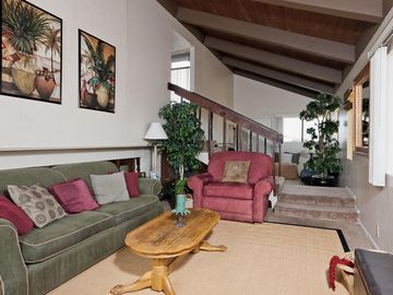 Oxnard house rental - Relax on the second level Family Room w/HD-TV/DVR, games, and plenty of seating.