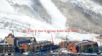 Resort Plaza condo rental - Location location location! Park City ski runs are a few steps away.