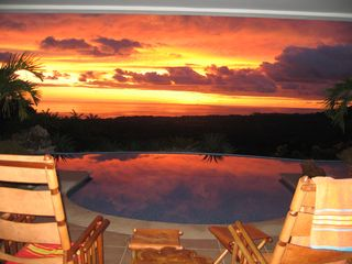 Nosara villa photo - Awesome sunsets