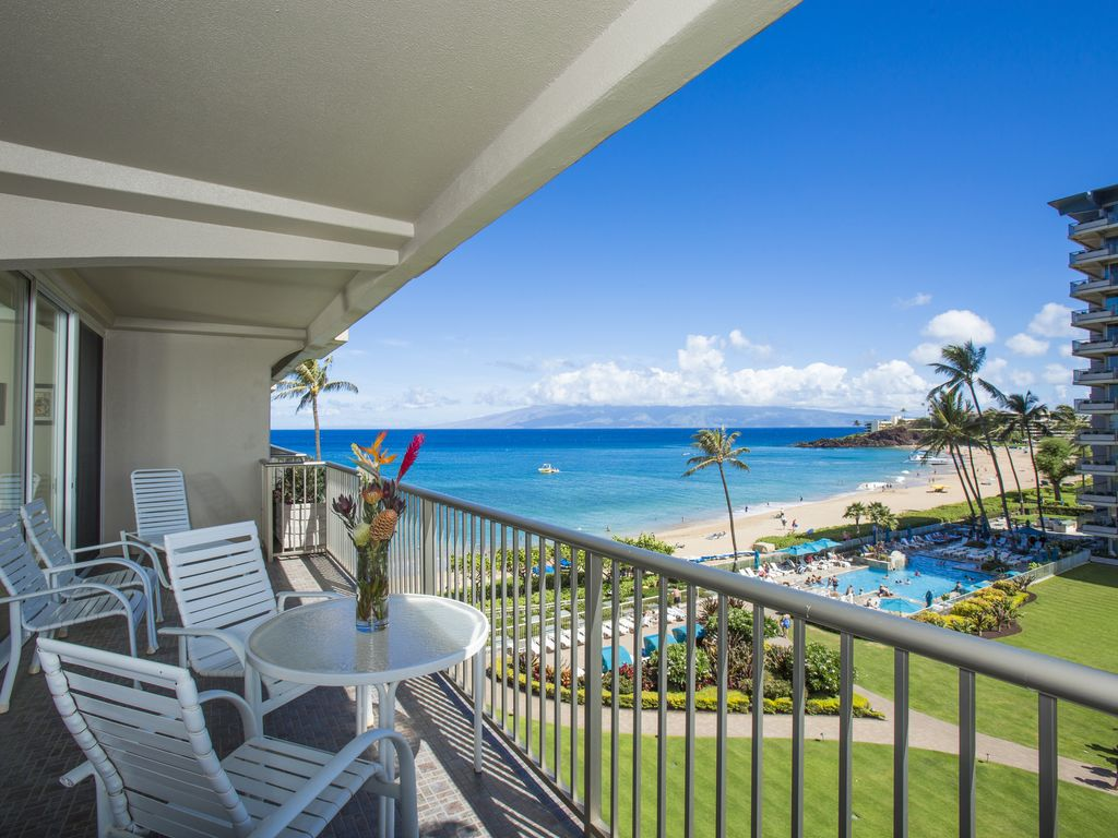 Wonderful vacation rental on Kaanapali Beach