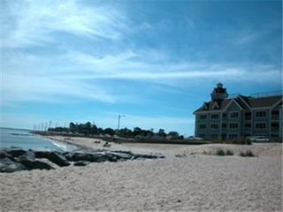 Oak Bluffs beaches/Inkwell is about a 7-minute walk to the end of the street. - Oak Bluffs house vacation rental photo