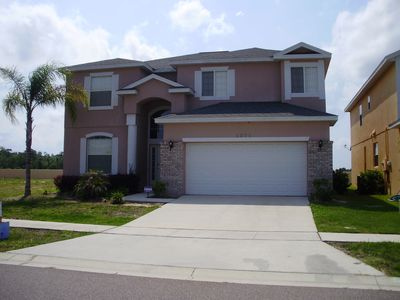 Luxury 6 Bedroom. Private Pool. Free WiFi&Long Distance. Minutes to Disney
