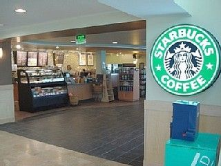 Starbucks Cafe in Retail Center