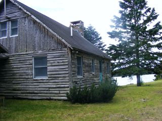 Lubec cottage photo - View from driveway