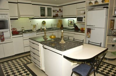 Fully Equipped Island Kitchen