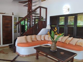 Las Terrenas villa photo - Seating Area