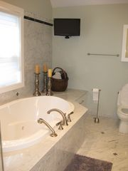 Williamstown house photo - ....relax in the jet tub with its own television!