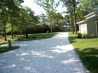 view from house to street - Pocasset house vacation rental photo