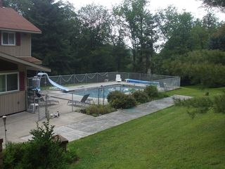 Seven Springs chalet photo - Heated in-ground pool