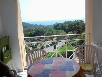 Apartment 4 people sea view - located in Agay, all inclusive price