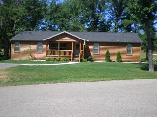 Wisconsin Dells cabin photo - House is located on a quiet cul-de-sac