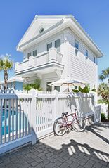 Rosemary Beach house photo - CABANA--Pool Courtyard Entry