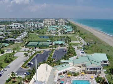 Our Unit is just 60 yards from the 1/2 mile of private beach front access