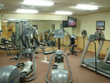 Onsite gym, sauna and steam room