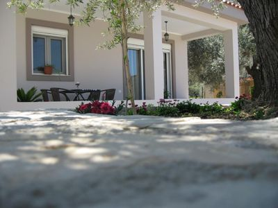Newly built and modern furnished Villa Katie, surrounded by olives trees