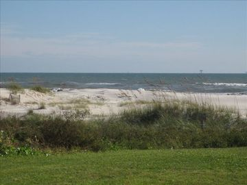 Fort Morgan condo rental - View of the gulf from outside the condo