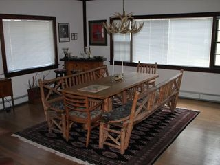 Estes Park house photo - Original Hickory Dining Table