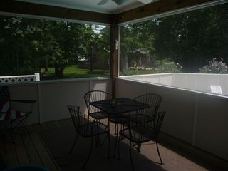 Kitty Hawk house photo - Screened Porch