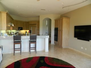 La Quinta house photo - Another view of the kitchen area. Sharp LED on wall.