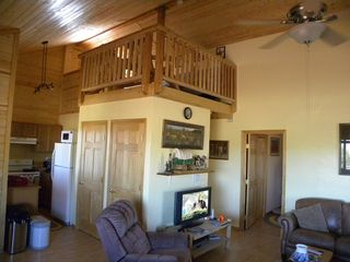 Grand Canyon cabin photo - Great room and loft