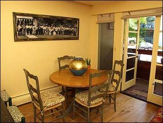 Aspen townhome photo - Dining Area