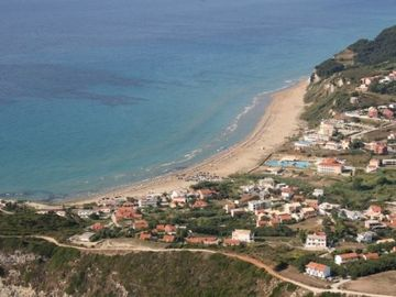 Agios Stefanos on the west coast