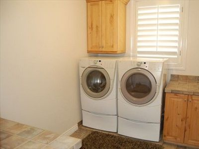 2 Laundry Rooms