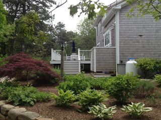 Edgartown house photo - View from Side Garden