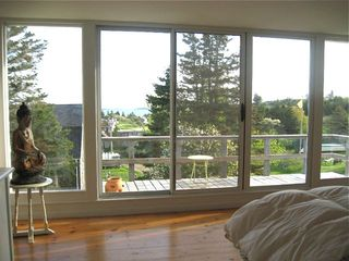 Monhegan Island house photo - view upstairs bedroom