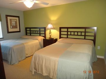 Second bedroom with 2 queen beds