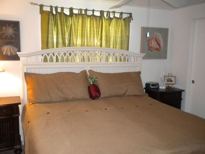 Port Charlotte house rental - King size in master bedroom