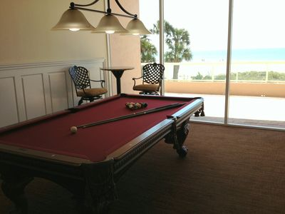 HOW ABOUT A GAME OF POOL?