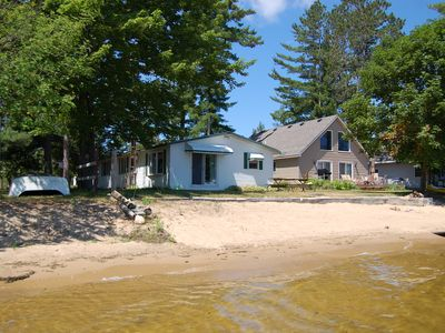 Black Lake house rental - Sand beach and lake bottom
