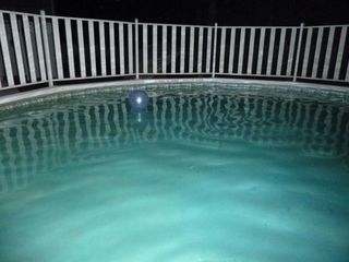 Hampton Bays house photo - the blue ball in the cool pool