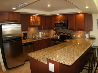 Remodeled Kitchen- Granite and Stainless Steel