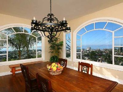 """Formal dining with breathtaking ocean views"""